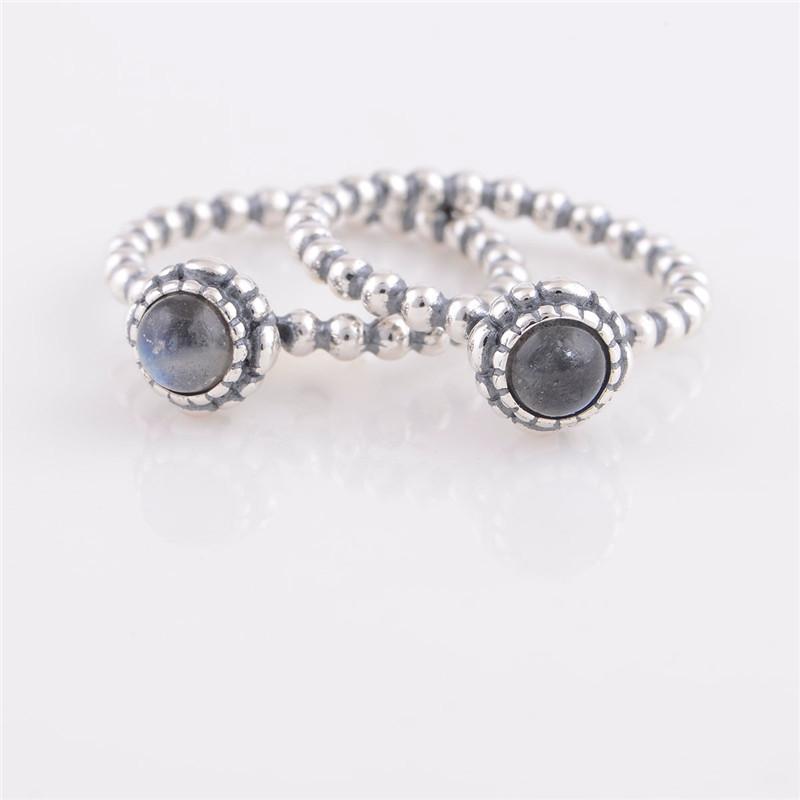 Pandora Moonstone Earrings: Pandora Moonstone Ring