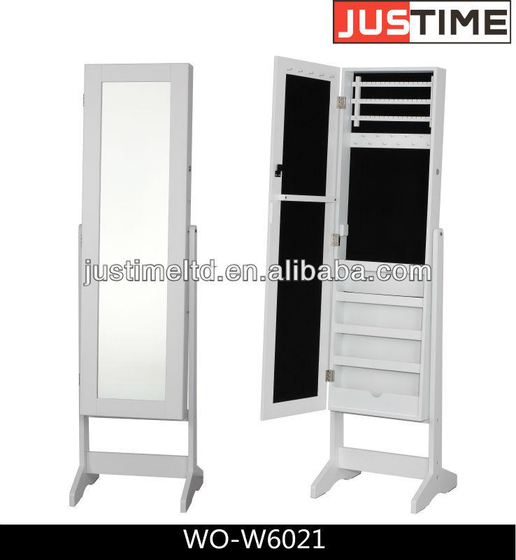 miroir de maquillage avec coffret bijoux pleine longueur miroir armoire miroir de maquillage. Black Bedroom Furniture Sets. Home Design Ideas