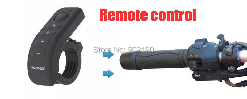 2014 Newest 1200m Motorcycle Helmet Interphone BT Multi Intercom With Handle