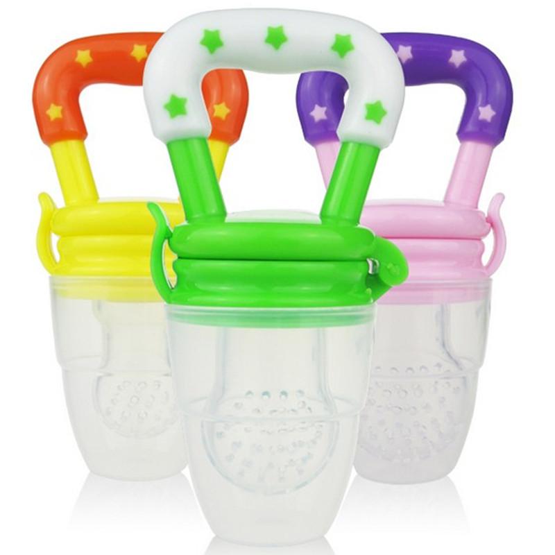 New Kids Nipple Fresh Food Milk Nibbler Feeder Feeding Tool Safe Baby Soother Teather Pacifier Bottles No.13