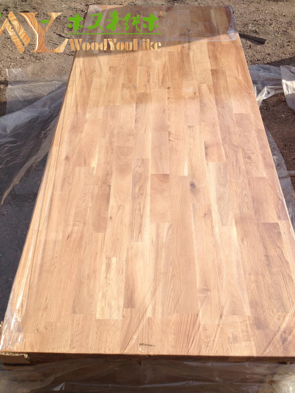 mm duro de madera hechas a la medida de roble encimeras de madera maciza