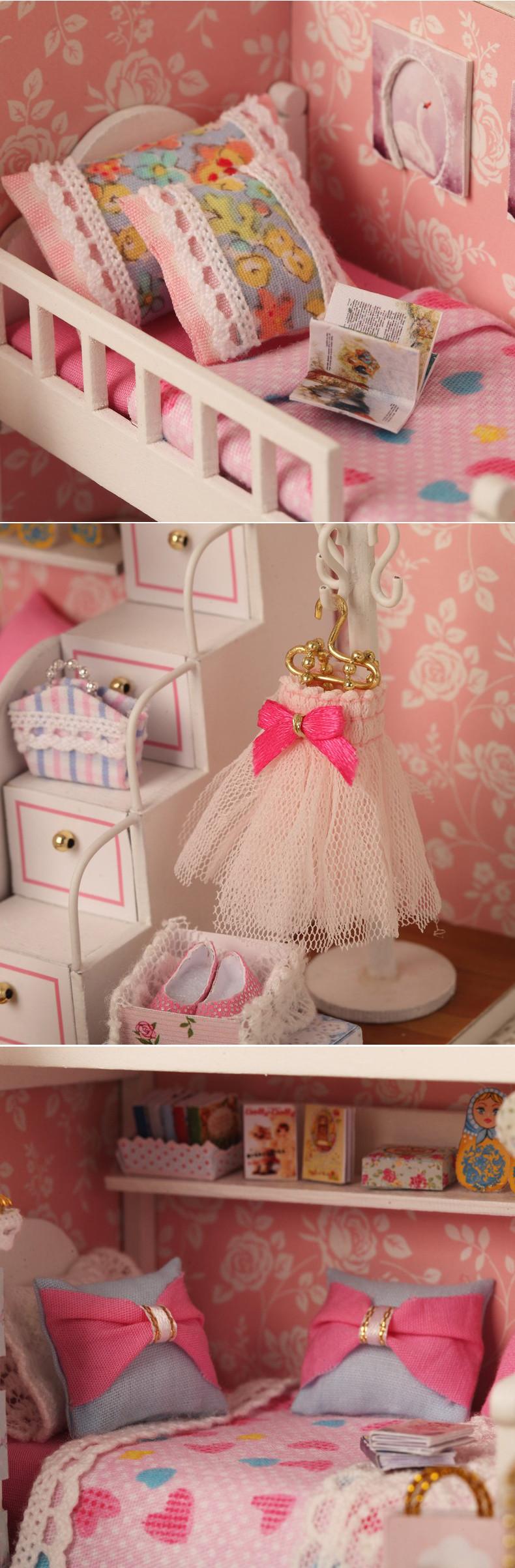 Buy Wooden Miniature Doll House Online In Pakistan