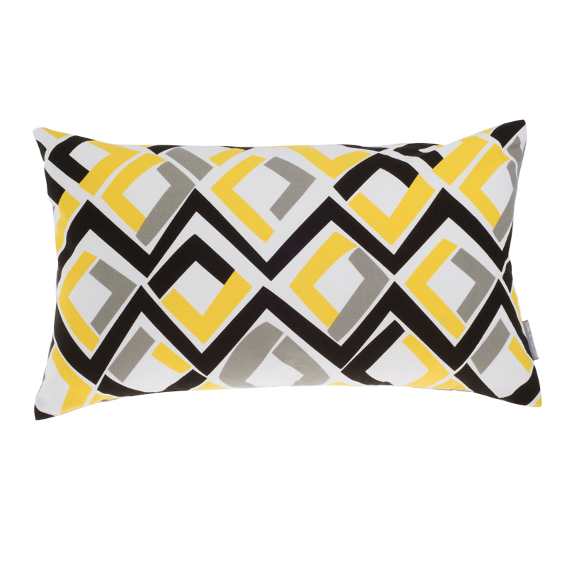 yellow cushion covers europe style sofa throw pillows printed geometric cushion cover grey. Black Bedroom Furniture Sets. Home Design Ideas