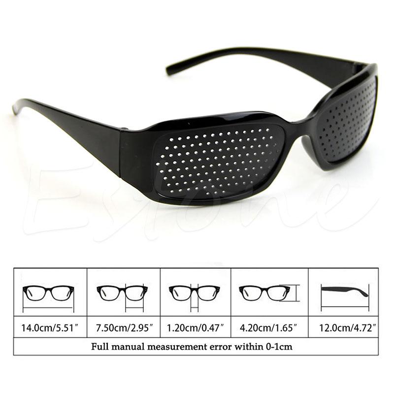 Online Buy Wholesale Mini Sunglass Pins From China Mini: Wholesale Black Unisex Vision Care Pin Hole Eyeglasses