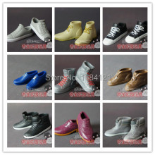 7 pairs lot shoes For Barbie Boy friend Ken Free shipping Dolls Accessories Best gift for
