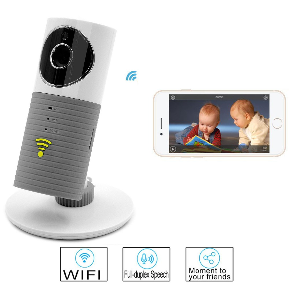 Hot Wireless Baby Monitor Mini IP Wifi Camera Baby Monitors with Motion Detection Night Vision Child Safety Smart Home