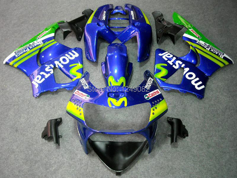 7gifts+ Green Blue Fairings For HONDA CBR900RR 919 98 99