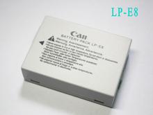1500mAh LP-E8 digital batteries Li-ion LP E8 LPE8 For Camera Battery pack For Canon EOS 550D 600D 650D 700D X4 X5 X6i