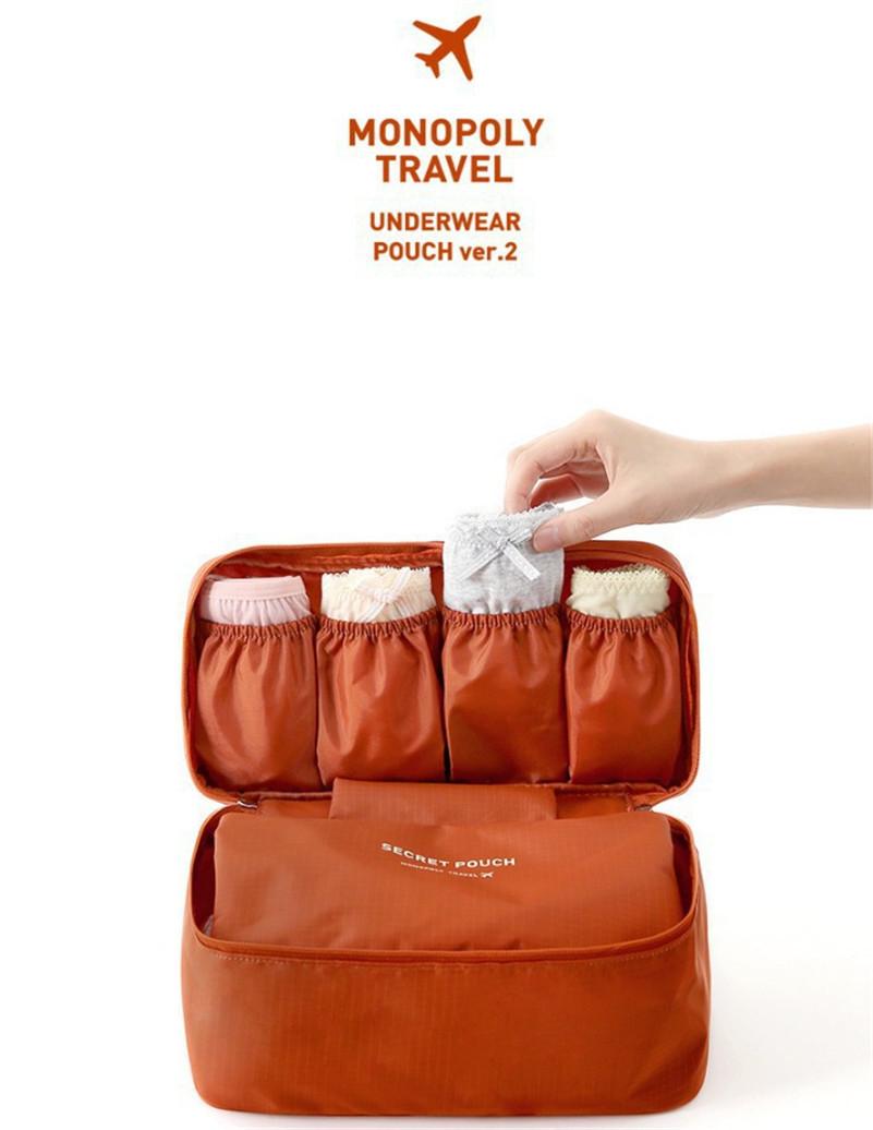 861cbcc03e26 Women's Storage Bag Travel Necessity Accessories Underwear Clothes Lingerie  Bra Organizer Cosmetic Makeup Pouch Suitcase Case