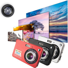 High Quality! 1280 * 720 HD Mini Digital Camera 18MP 2.7″ TFT 8x Zoom Smile Capture Anti-shake Video Camcorder