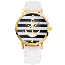 Dámské hodinky Geneva v námořnickém stylu v různých barvách z Aliexpress