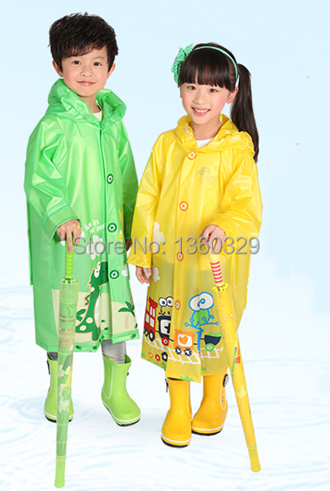 Pink Green Blue burberry_ kids Cartoon Raincoat Yellow ...  Pink Green Blue...