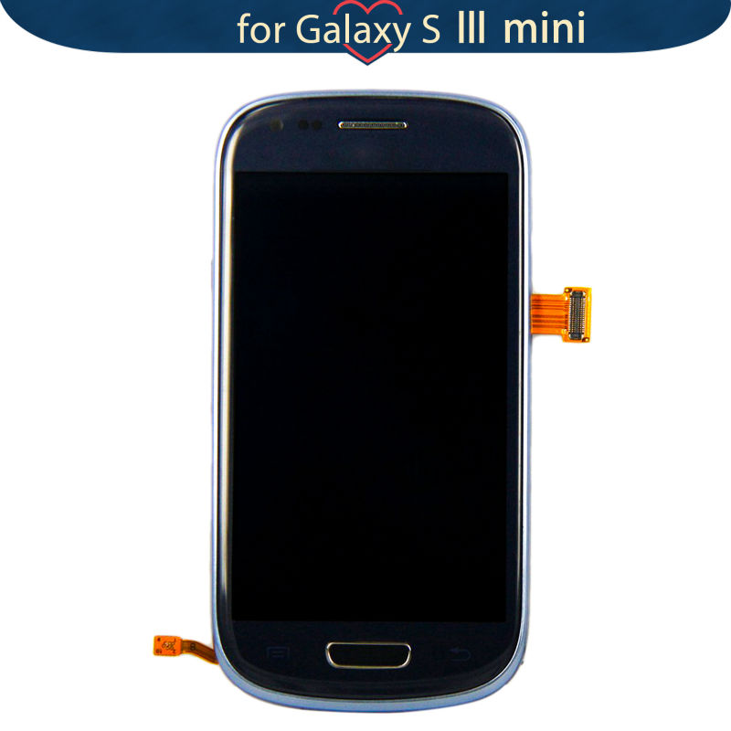 For Samsung Galaxy S3 SIII mini GT i8190 Blue Touch Screen