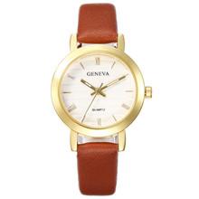 2020 Топ люксовый бренд женские часы-браслет модные стильные женские часы кожаные Аналоговые кварцевые наручные часы # YY Reloj Mujer Часы(Китай)