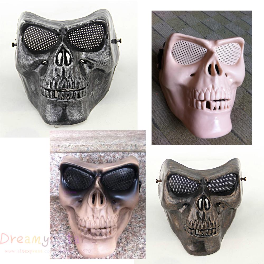 Popular Skull Paintball Mask-Buy Cheap Skull Paintball Mask lots from China Skull Paintball Mask ...