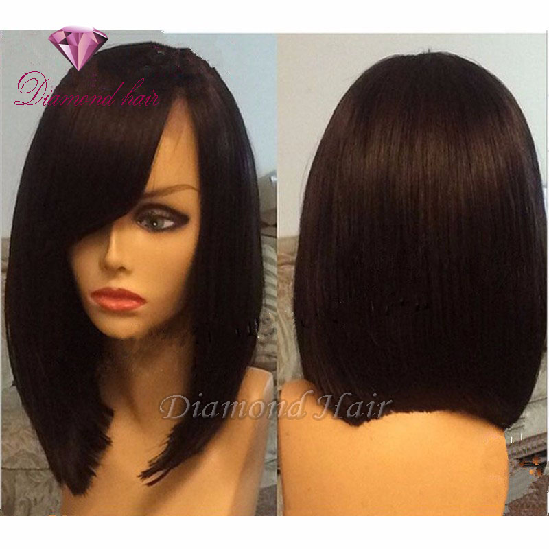 Surprising Lace Front Human Hair Bob Wigs Stores Selling Wigs Short Hairstyles Gunalazisus