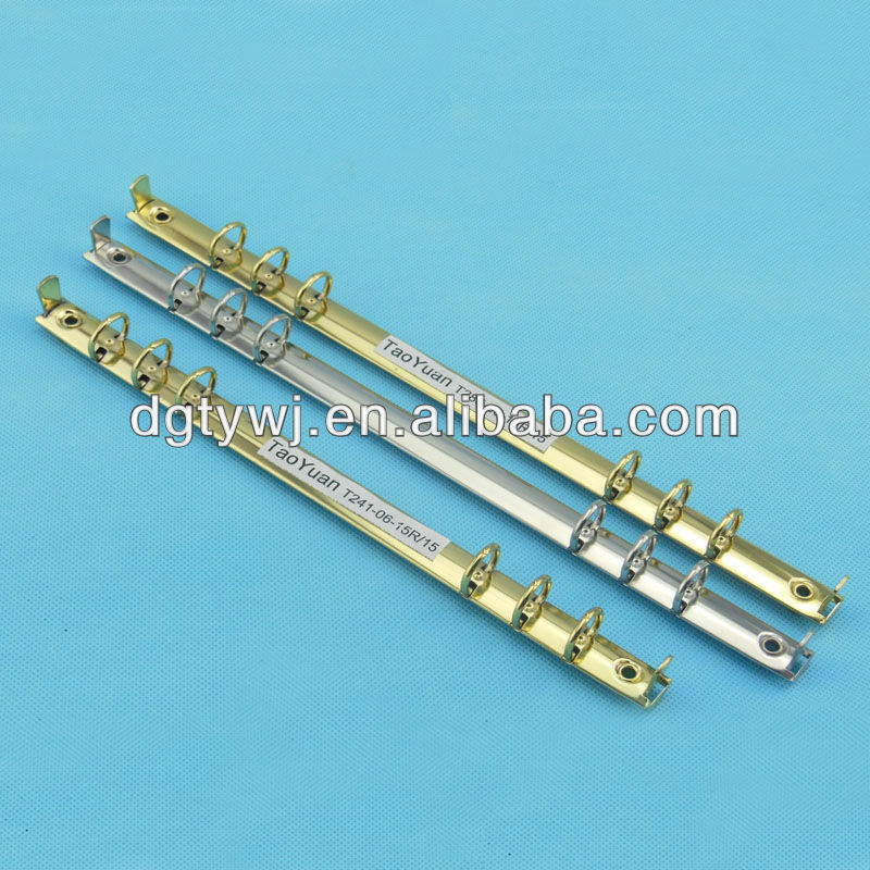 Metal 6 Ring Binder Mechanism
