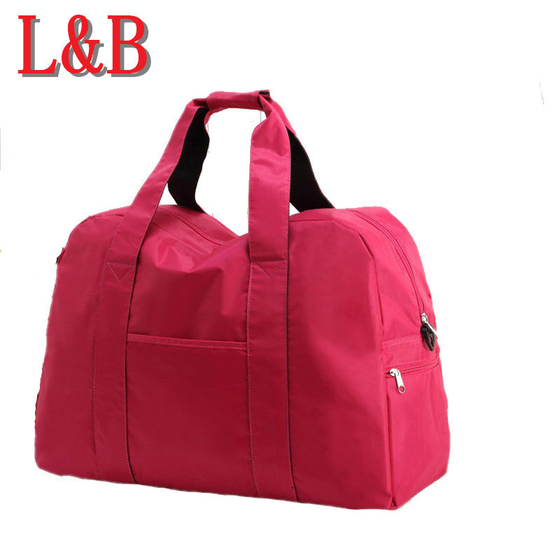 2015 Hot Selling Large Capacity Folding Waterproof Sports fitness Travel Luggage bag portable Unisex Shoulder Handbag