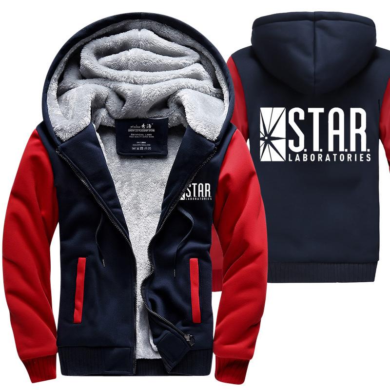 I laboratori Star felpa maglione il flash laboratori S.T.A.R tutte le taglie