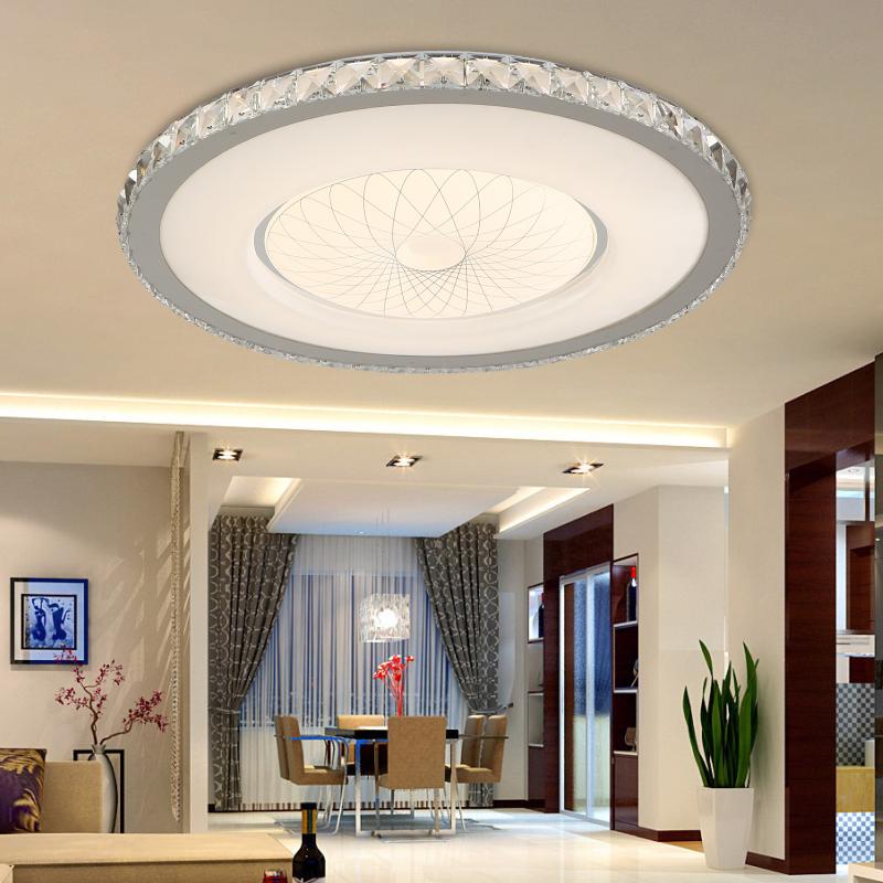 teacher designer crystal lamp living room lamp modern minimalist bedroom den lighting round led. Black Bedroom Furniture Sets. Home Design Ideas