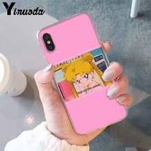 Yinuoda эстетический Забавный чехол для телефона kawaii anime girl Sailor Mars для iPhone X XSMAX 6 6S 7 7plus 8 8Plus XR 10 11 11pro 11promax(Китай)