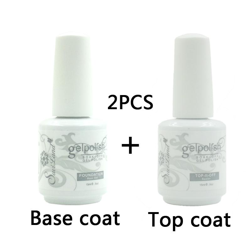 2pcs Brand Saviland 15ml Gelpolish Gel Nail Polish Soak Off