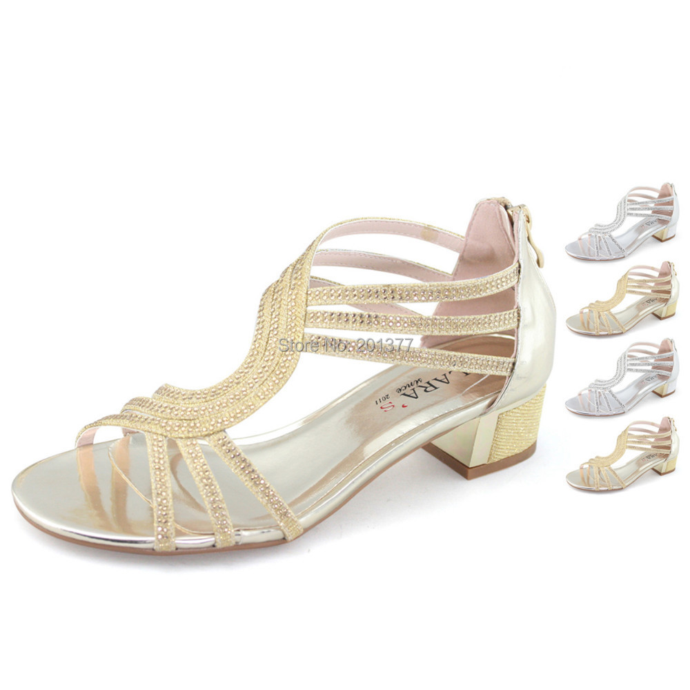 Womens Silver get dressed footwear Low Heel | @NEWARTSOURCE