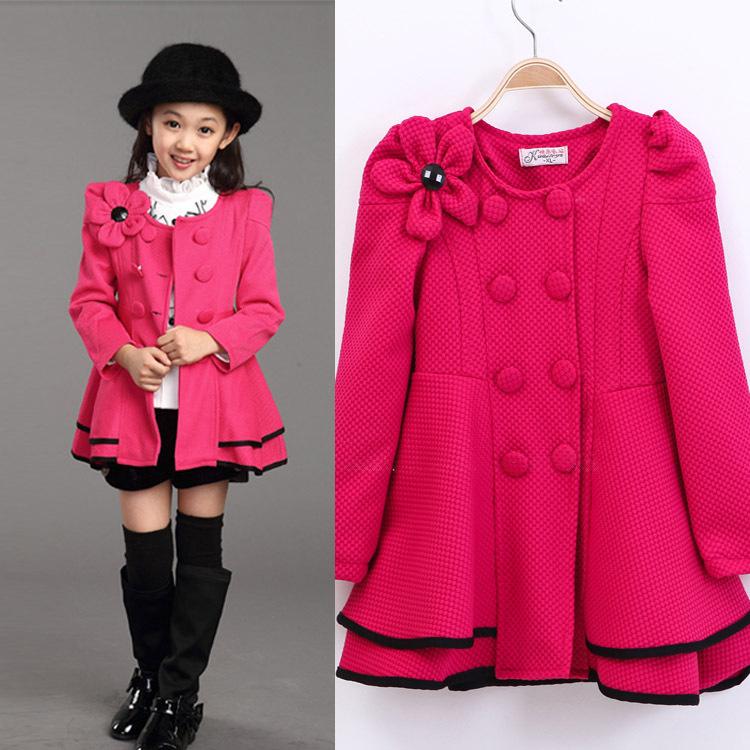 Kids Dress Coats Han Coats
