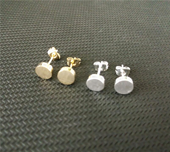 Aliexpress.com : Buy Stainless Steel Small Round Flat Disc ...