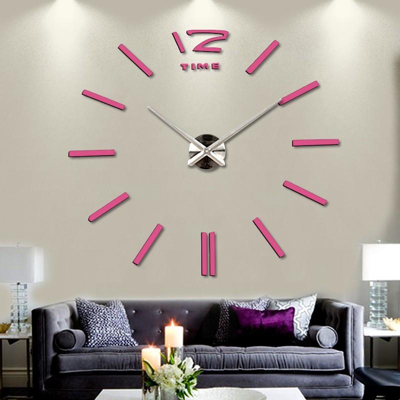 מותג 2014Home עיצוב הבית הגדול דיגיטלי שעון קיר בעיצוב מודרני,גדול דקורטיביים מעצב שעוני קיר.שעון קיר שעות