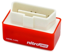 New Arrival NitroOBD2 Red Chip Tuning Box For Diesel Cars Nitro OBD2 Performance Plug and Drive Fuel Economizer More Power