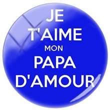 Французский дизайн с надписью TAFREE je suis un papa genial, 25 мм, сделай сам, стеклянный кабошон, изображение купола, брелок, ожерелье, аксессуары(Китай)