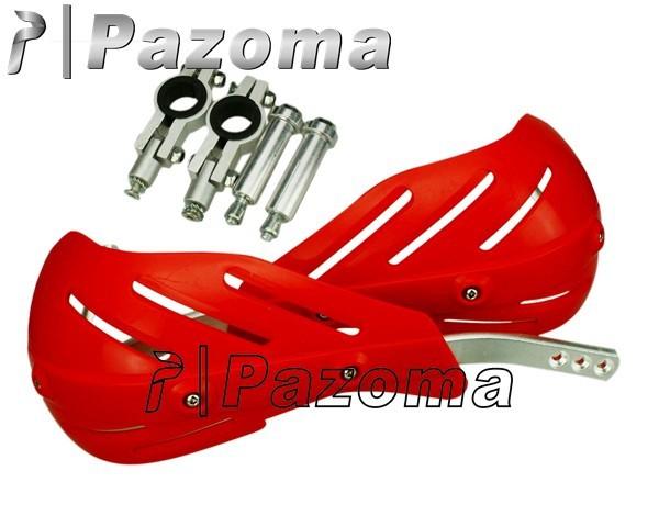Pazoma бесплатная доставка красный универсальный мотоцикл мотокросс DIRTBIKE при использовании мх-atv рукавицы ручной гвардии для crf xr