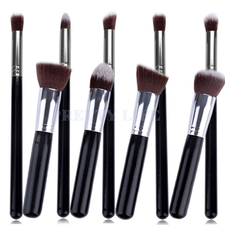Best Quality 9pcs Makeup brushes Premium Synthetic Make up ...