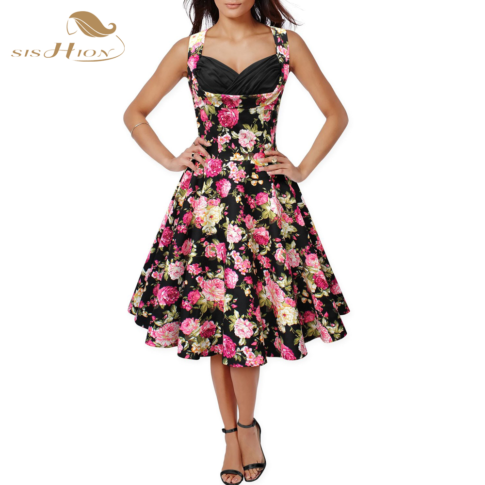 Online Get Cheap 50s Inspired Dresses Aliexpress Com