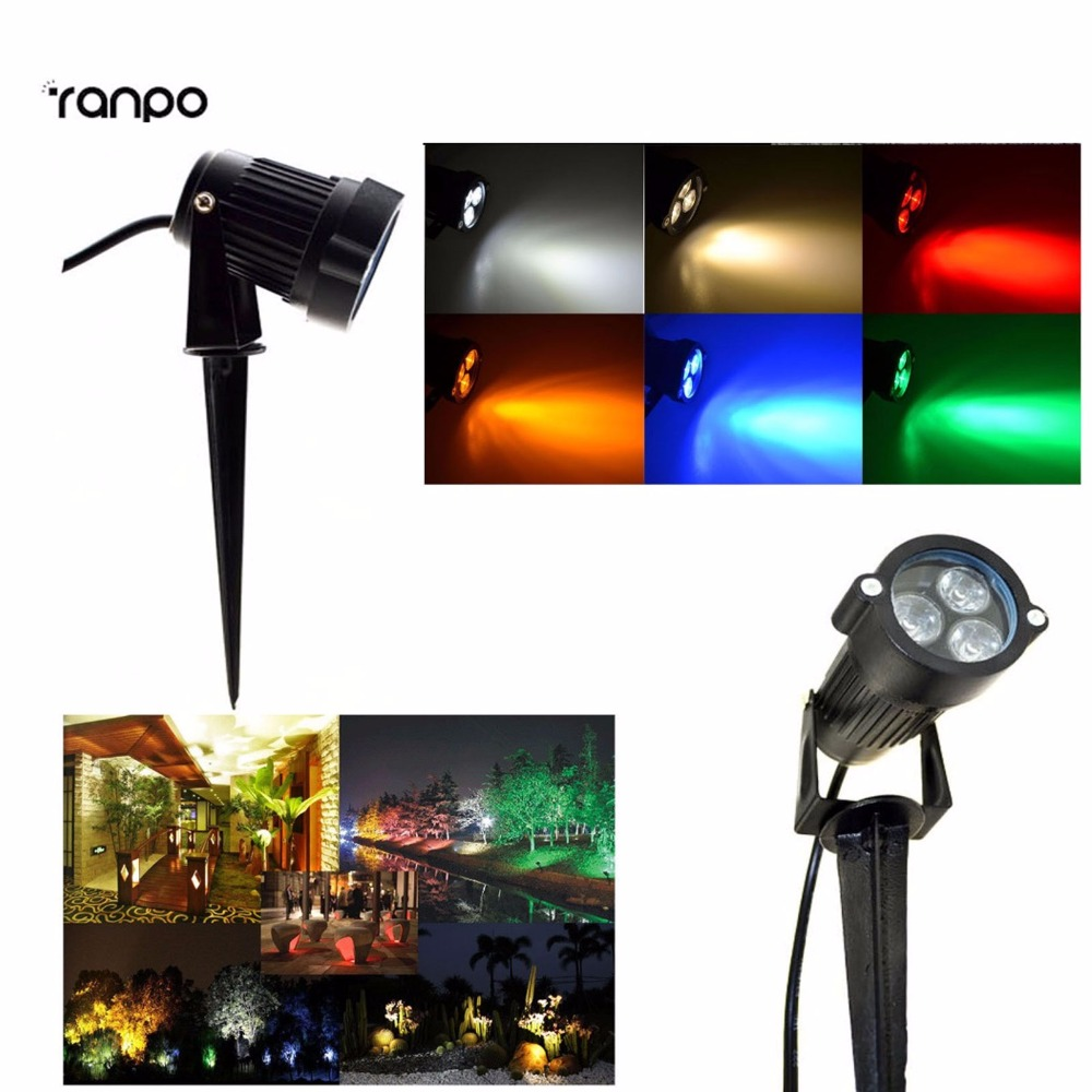 Outdoor Led 9w Cool White Warm White Red Yellow Blue Green