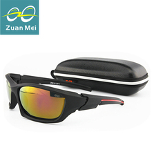 2014 New Sports Sunglasses Men/Women Cycling Glasses Fishing Sunglasses Men Polarized UV400 Oculos De Sol original Box Z.MS-01-M