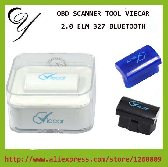 2016 новое поступление Viecar 2.0 Bluetooth последнюю версию V2.1 поддерживает 7 протоколы работает Android / Symbian / PC OBDII CAN-BUS ELM327
