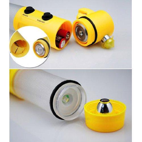 100% новых автомобилей побег чрезвычайная инструмент из светодиодов фонарик безопасности молотка