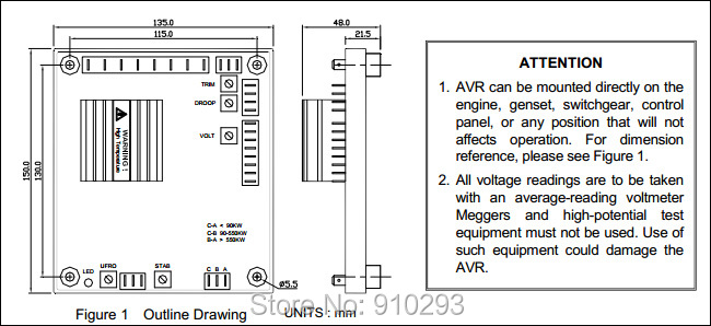 buy stamford generator avr sx440. Black Bedroom Furniture Sets. Home Design Ideas