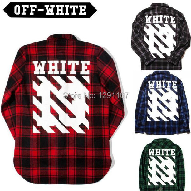 Top Quality Off White C/O Virgil Abloh Pyrex Vision plaid ...  Top Quality Off...
