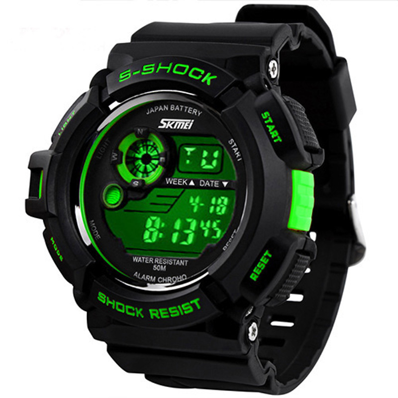 relogios masculinos 2015 Outdoor Sports Watches Men LED ...