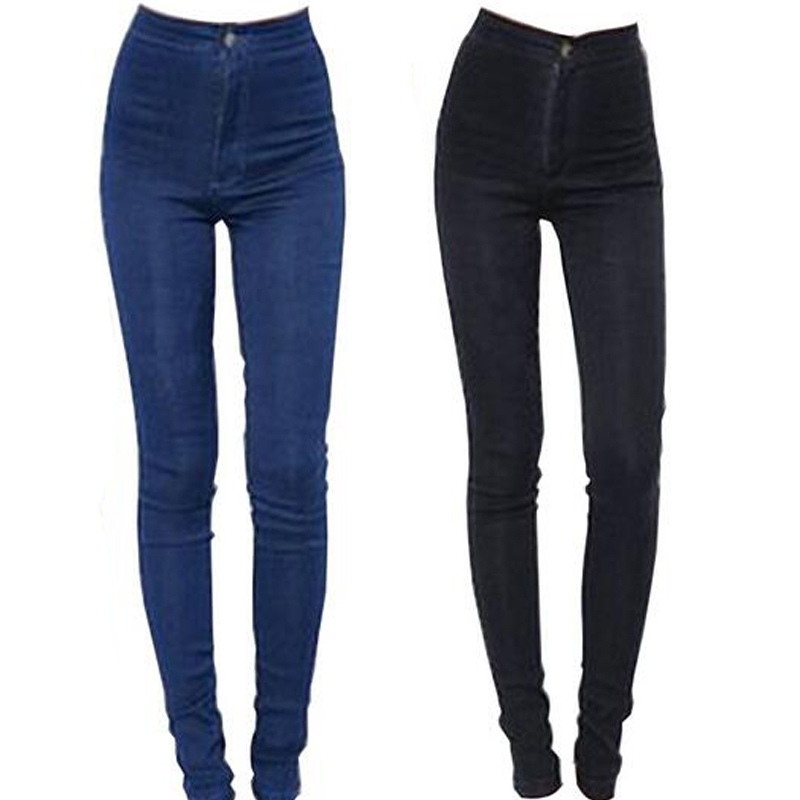2015-New-Fashion-Jeans-Women-Pencil-Pants-High-Waist-Jeans ...