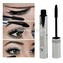 Chegada nova marca New Black Eye Mascara longo cílios pincel Silicone curvando alongamento Mascara Waterproof maquiagem