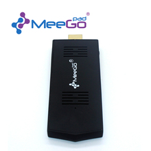 Meegopad T02 T 02 2G RAM 32G ROM Unbutu & Win10 Mini PC TV Stick Quad Core Intel Atom Z3735F HDMI TV Box Player Computer Stick