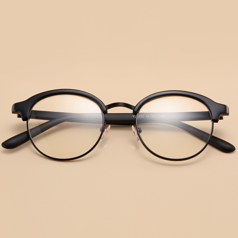 e8d6329082 Retro Round Glasses Korean
