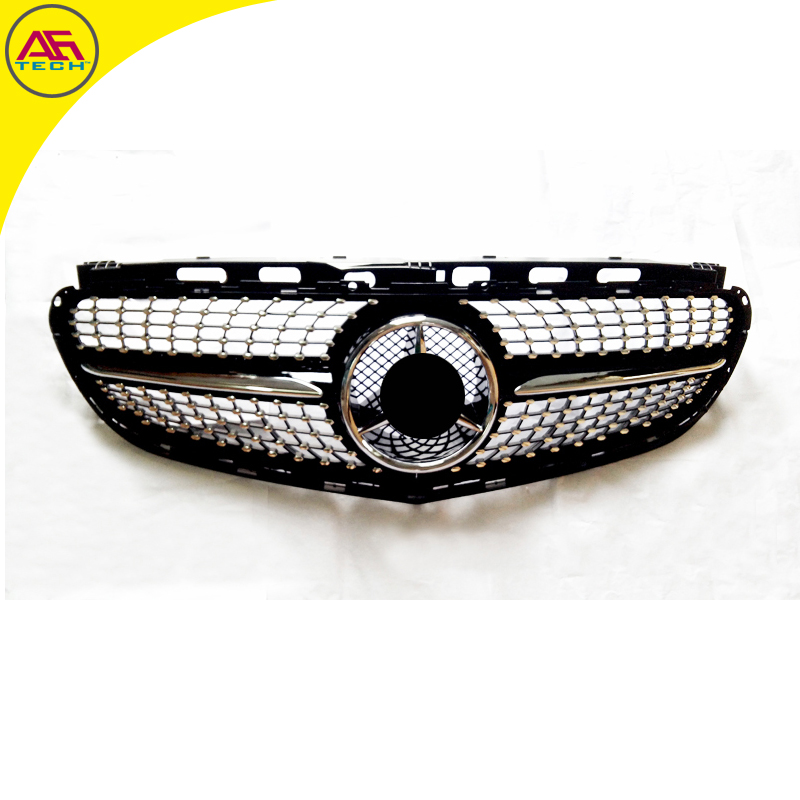 w212 facelift sport diamond middle grills car front. Black Bedroom Furniture Sets. Home Design Ideas