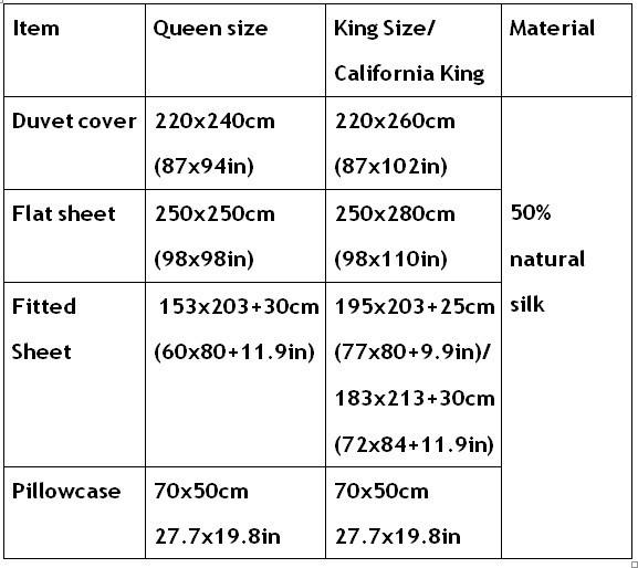 Wholesale Silver Grey Silk Bedding Set Satin Sheets Cal