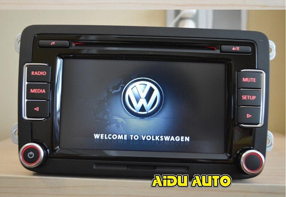 Vw автомобиль стерео RCD510 оригинальное радио с кодом для VW RCD510 гольф-1 5 6 Jetta CC Tiguan Passat поддержка USB без рвк