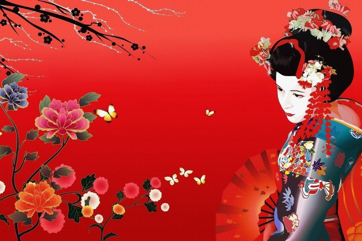 Wholesale Home Decor Suppliers China Popular Japanese Flower Paintings Buy Cheap Japanese